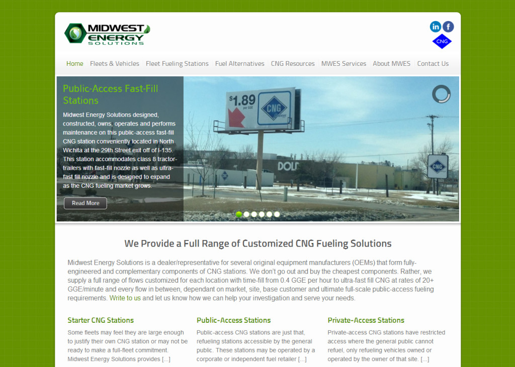 Midwest Energy Solutions Website