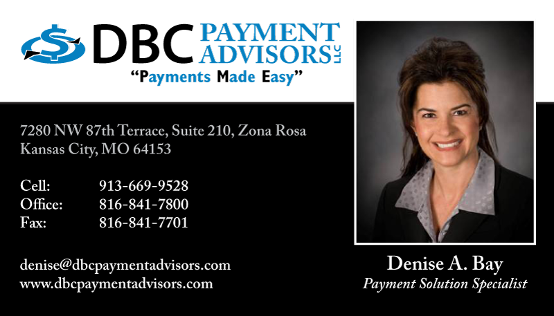 DBC Payment Advisors Business Card
